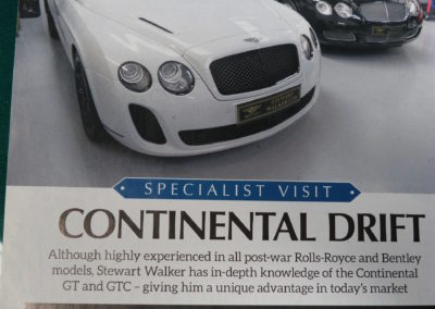 Nice article in Rolls-Royce & Bentley Driver Magazine